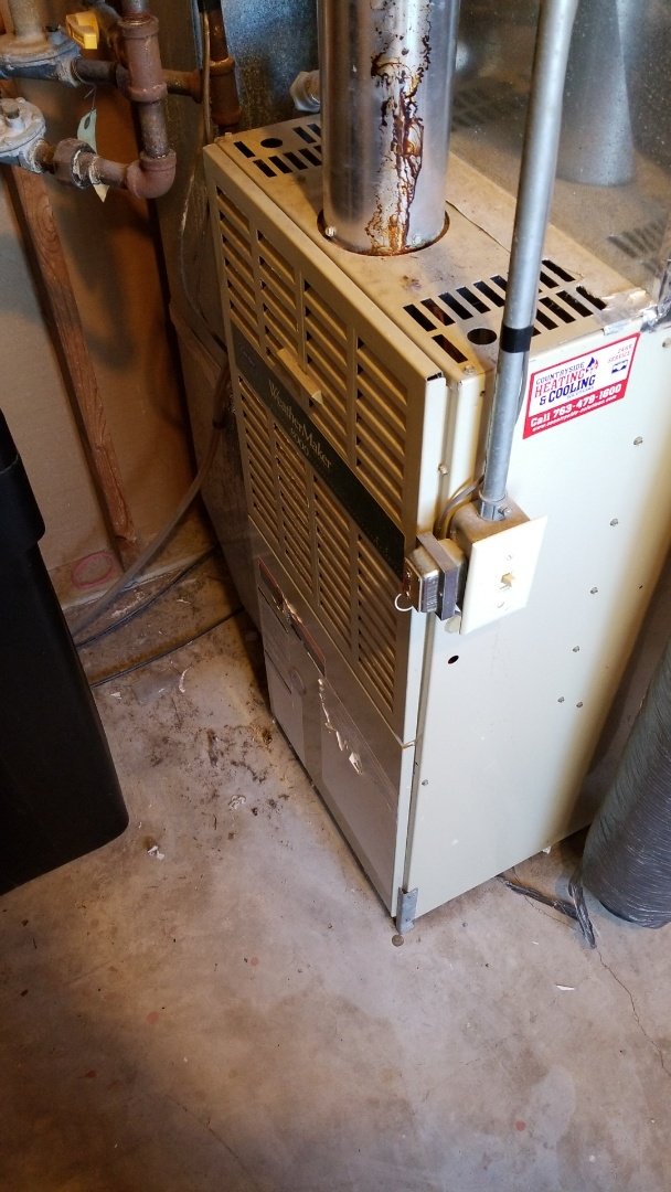 Maple Grove, MN - Repairing furnace that is not heating in Maple Grove