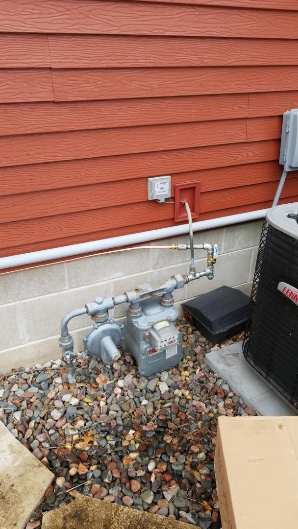 Minnetonka, MN - Running gas line to electric generator in Minnetonka