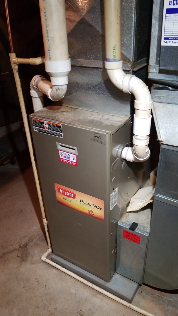 Loretto, MN - Installing a new heat exchanger in Corcoran