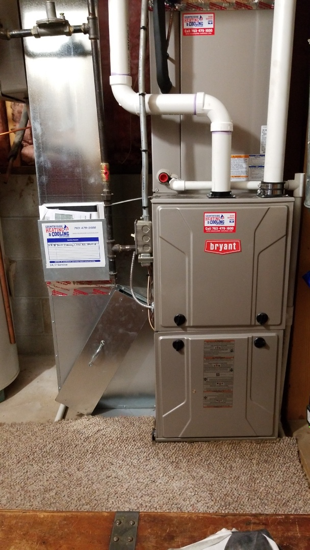 Anoka, MN - Working on Bryant furnace in Anoka