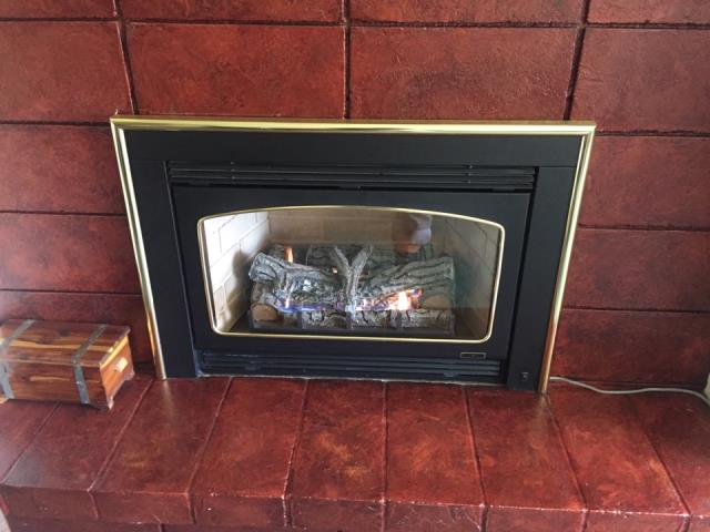 Rockford, MN - Fireplace repair in Greenfield Minnesota. Tested blower operation