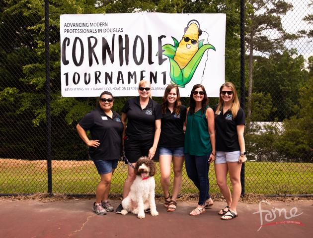 We had a great time connecting with local businesses and photographing the 2019 AMP'D Cornhole Tournament!