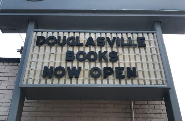 Douglasville, GA - Had a great time supporting Douglasville Books today at their ribbon cutting put on by the Douglas County Chamber of Commerce. We wish this company great success moving forward!
