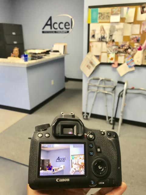 Carrollton, GA - Captured headshots for one of the clinical staff members at Accel Physical Therapy's Carrollton location! Their website will soon have some employee and location updates!