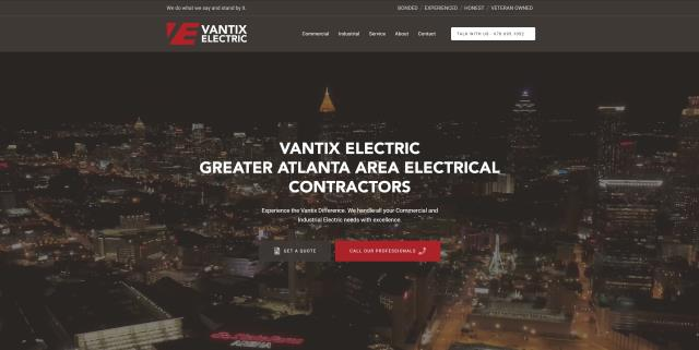 Just launch a new custom website for Vantix Electric. We really enjoyed working on this one.
