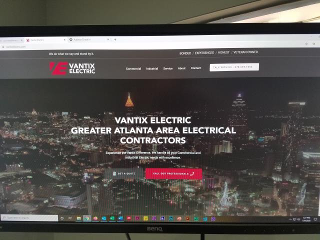 The site is LIVE! Everybody go check out https://vantixelectric.com/
