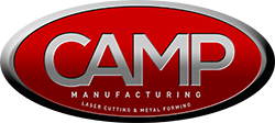 Had a great weekly strategy meeting discussing progress and 2020 Q1 priorities. Camp Manufacturing is a regional expert in metal fabrication services, including advanced, industry-standard laser cutting!