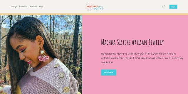 Douglasville, GA - We launched a new Squarespace site for the Machka Sisters today. We provided branding, design, and support for the launching of their official online storefront!