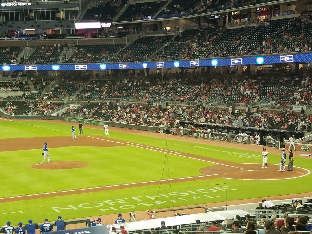 Atlanta, GA - Enjoying a night under the stars watching the Bravos and talking a little Fame Marketing. Hard to beat that kind of combo!