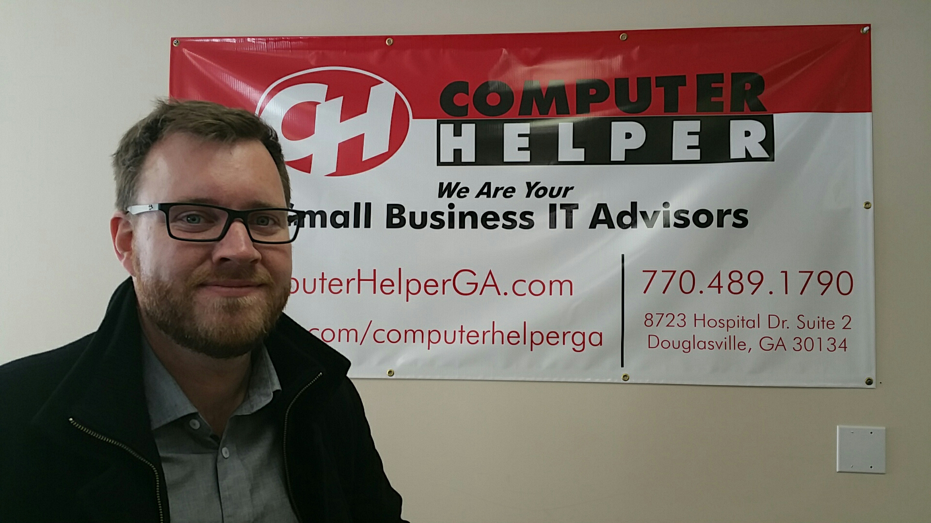 Douglasville, GA - Discussing our local SEO strategy for computer repair company website that is launching soon.   Currently their content is being written to match our keyword research and site outlines, then we will work on a new website design and implement some exciting strategies to maximize their local SEO results.   Keep you eyes out for Computer Helper!