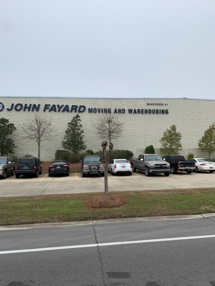 Office supply delivery to John Fayard moving and storage Gulfport