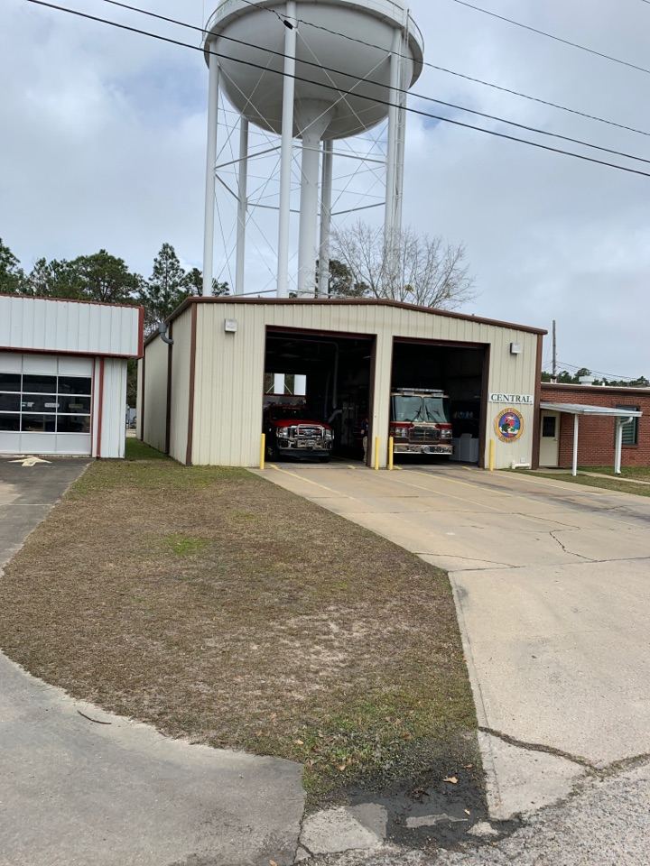 Janitorial supply delivery to city of Gaucher fire department