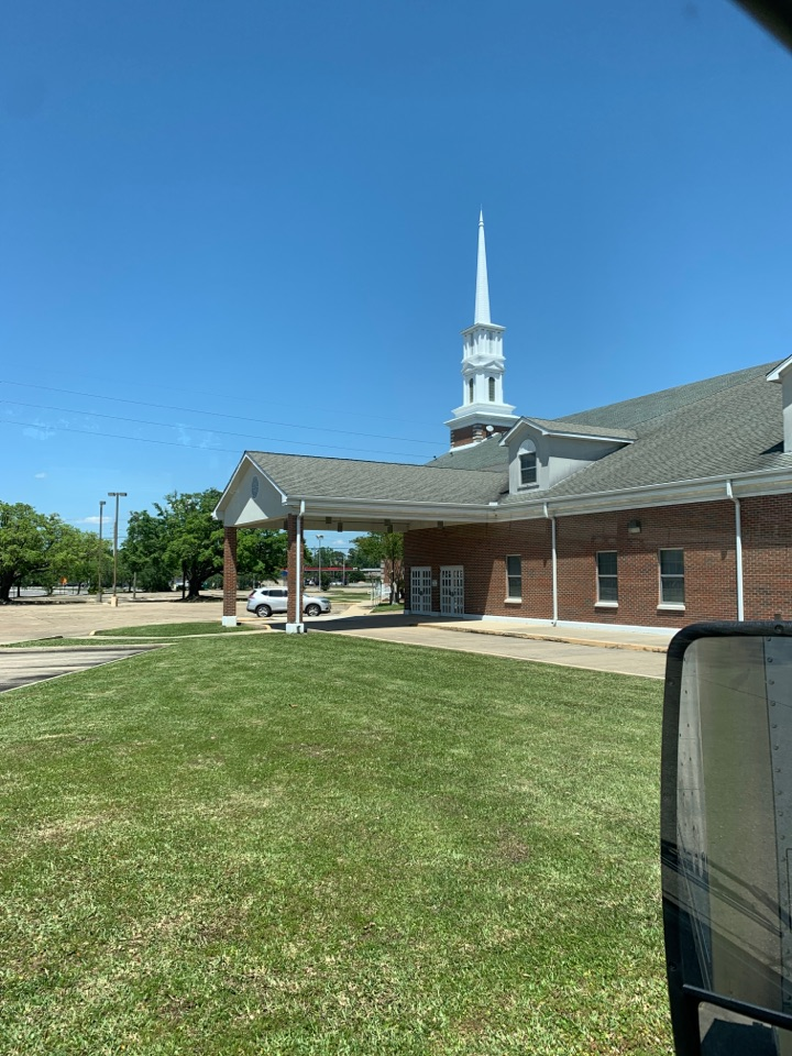 Janitorial supply delivery to first Baptist Church Pascagula