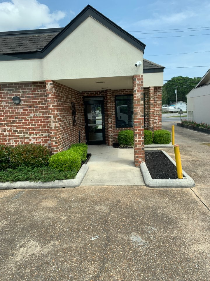 Janitorial supply delivery to merchants and Marine Bank