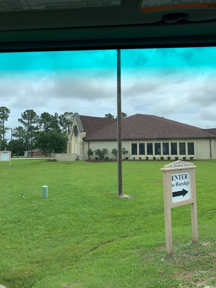 Office supply delivery to Saint Elizabeth Seton Catholic church