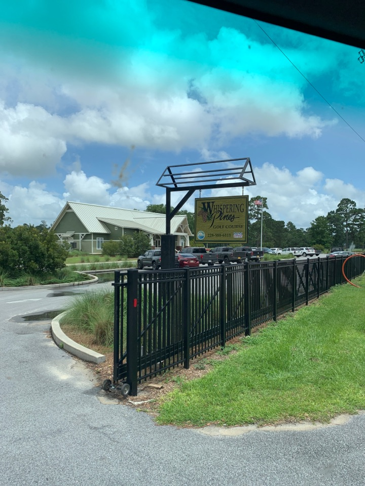 Moss Point, MS - Office supply delivery to Jackson County purchasing whispering Pines golf course