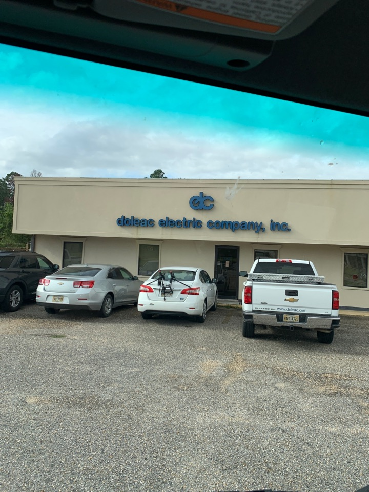 Gulfport, MS - Office supply delivery to Doleak electric company