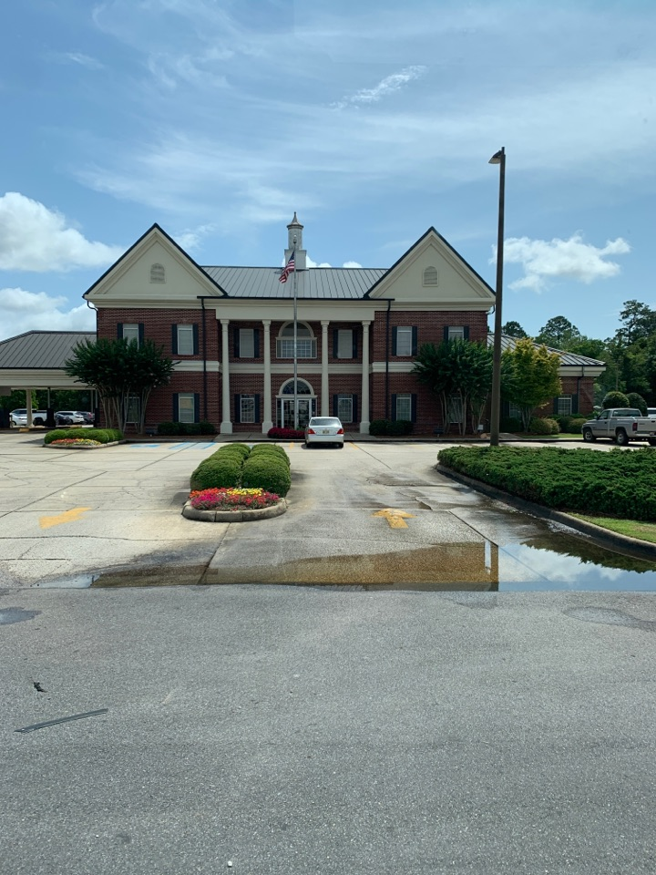 Moss Point, MS - Water delivery to singing River federal credit union