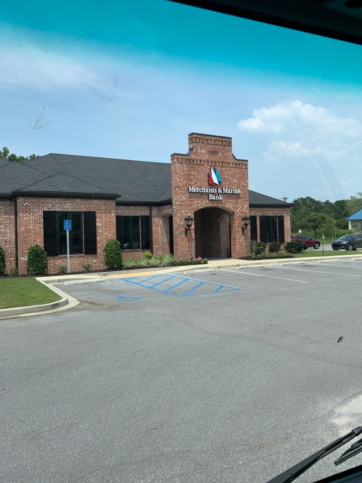 Office supply delivery to merchant and Marine Bank Gautier