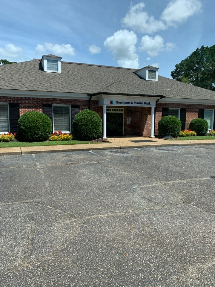 Moss Point, MS - Covid supply delivery to merchant and Marine Bank Escatawpa