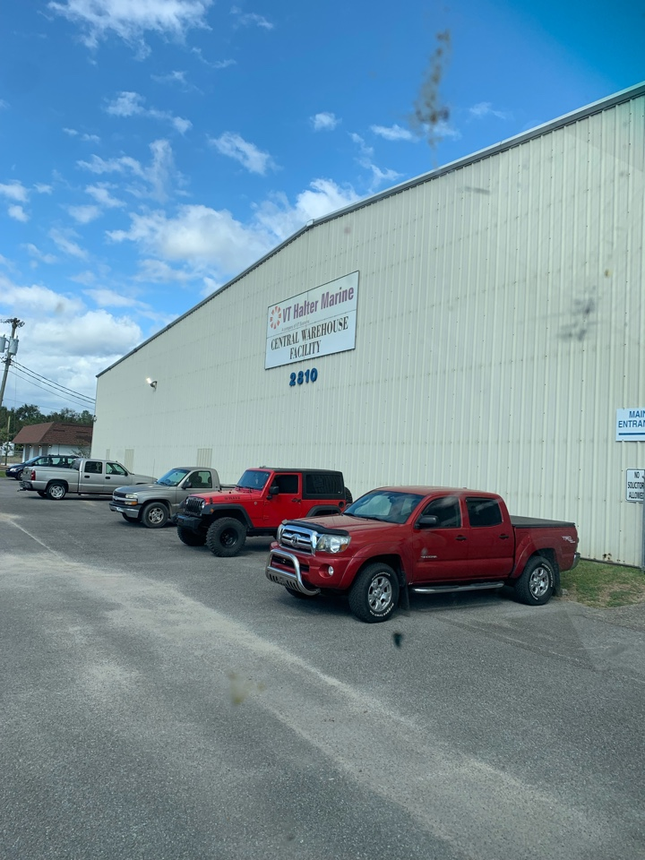 Pascagoula, MS - Office supply delivery to VT Halter main warehouse Pascagula