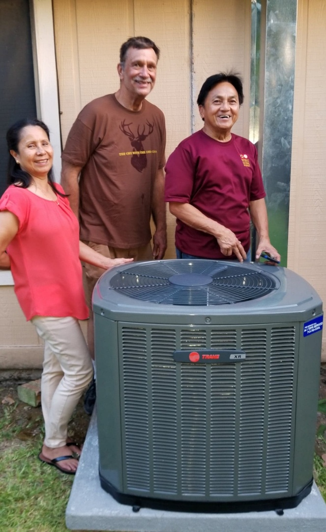 Houston, TX - Air conditioning installation