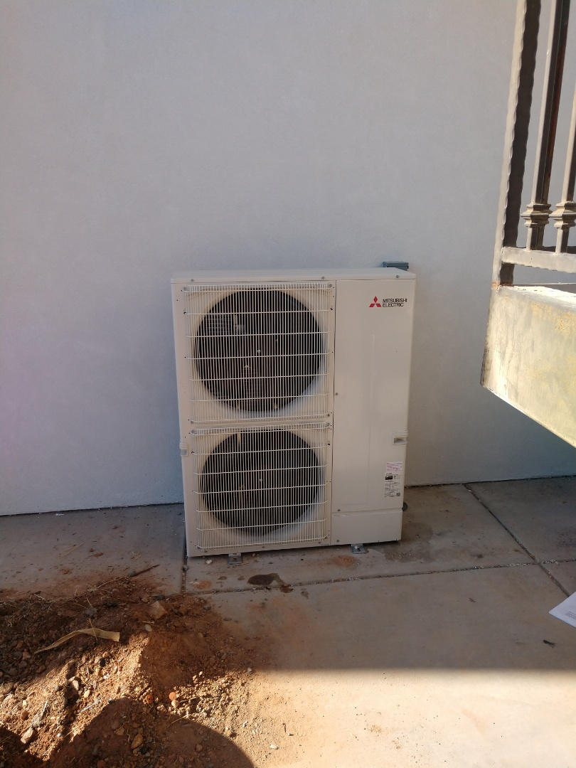 St. George, UT - Installation of Mitsubishi mini split system