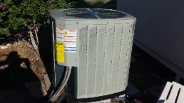 Veyo, UT - Dixie HVAC installing new heat pump condensor and ac coil