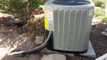 Veyo, UT - Dixie HVAC finishing up new American Standard Duel Fuel system install