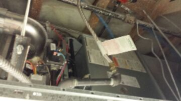 Cedar City, UT - Dixie HVAC doing routine maintenance on 2 Carrier 80% gas furnaces