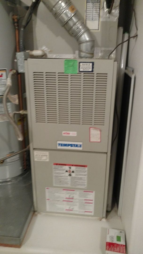 Ivins, UT - Dixie Heating and Air Conditioning replacing bad temperature control on Tempstar Central Air gas Furnace system
