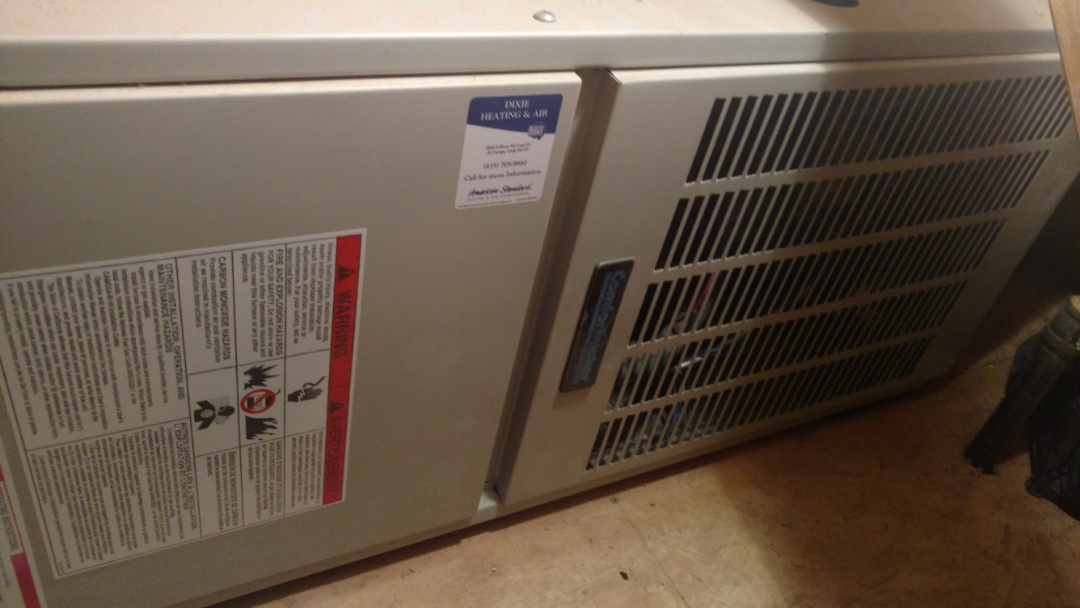 Washington, UT - Dixie Heating and Air Conditioning replacing bad ignitor on Comfortmaker gas furnace
