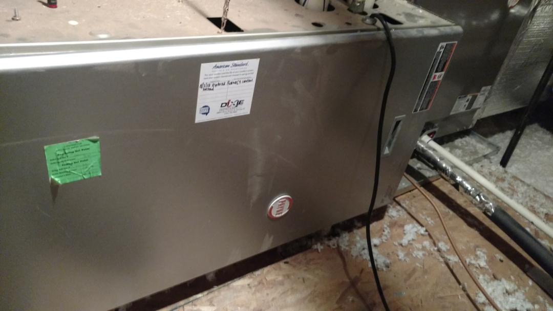 St. George, UT - Dixie Heating and Air Conditioning replacing bad furnace control board on Payne gas furnace