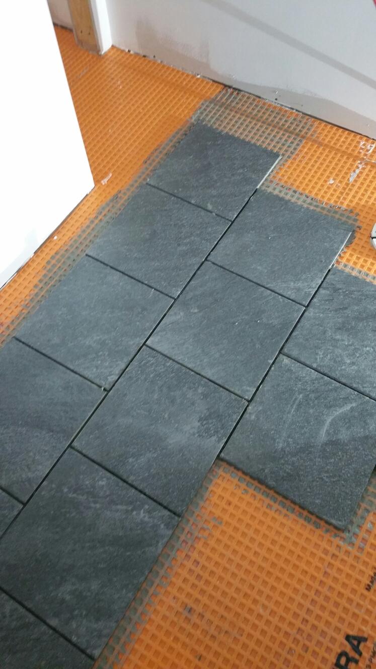 Newark, DE - New tile floors