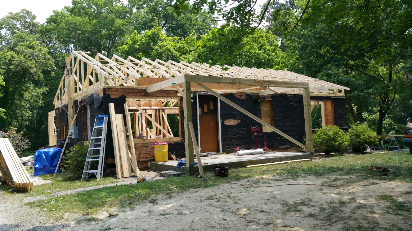 Elkton, MD - New roof truss