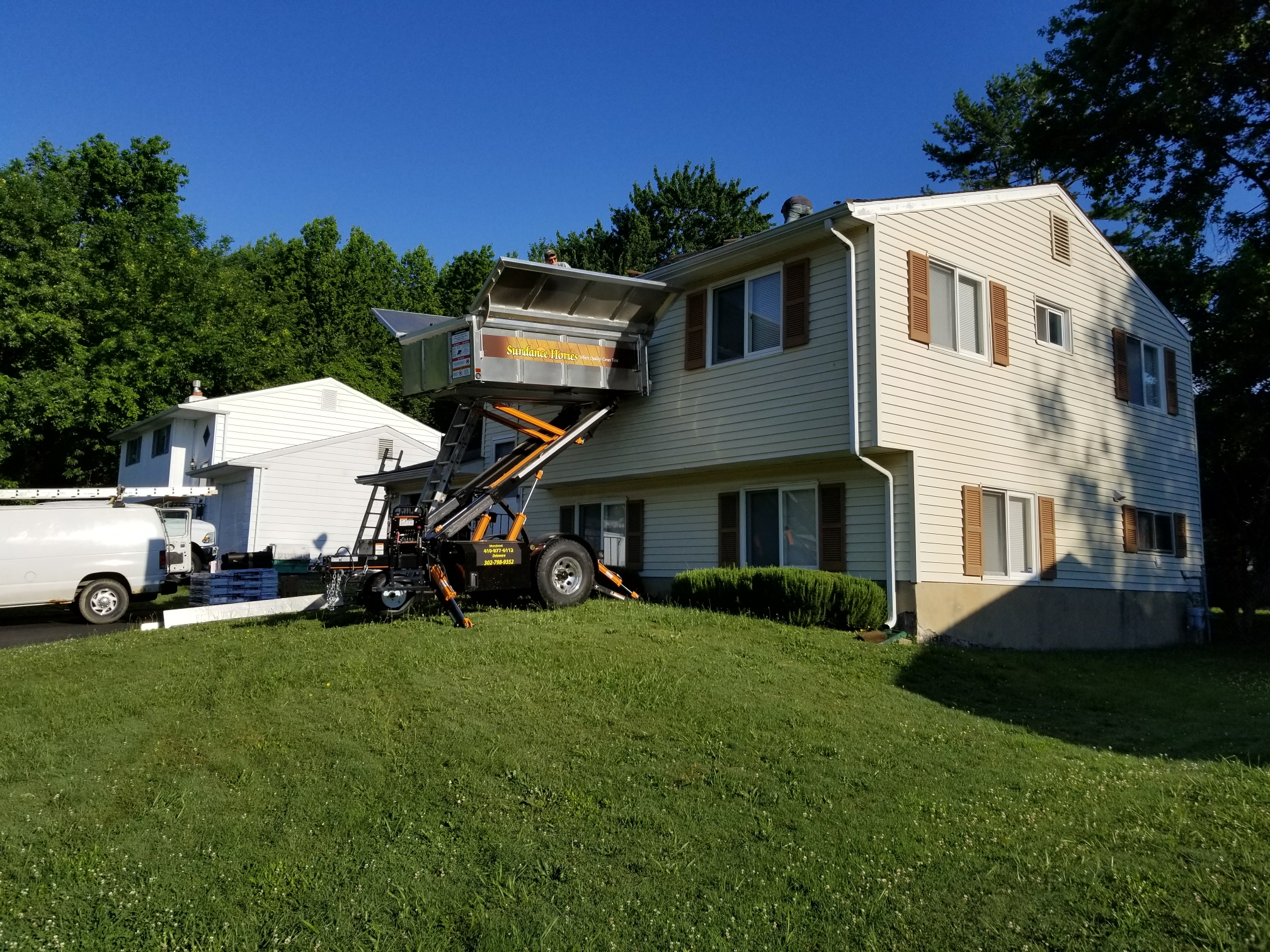 New Castle, DE - Starting a GAF Timberline HD Lifetime Roof Replacement today