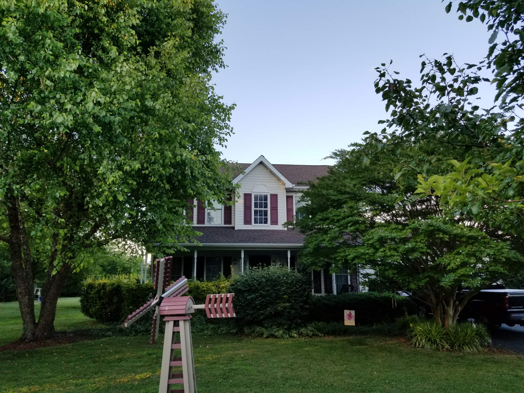 Earleville, MD - Just finished this GAF Timberline HD Lifetime Roof Replacement
