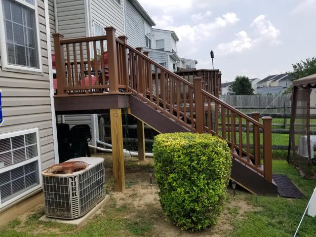 Newark, DE - Here is a Trex Transcend Composite Deck we just finished