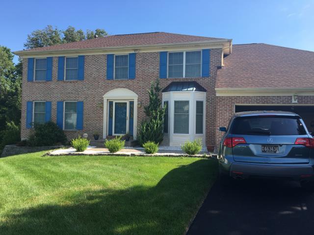 Wilmington, DE - We just finished installing new Pella Impervia fiberglass windows.