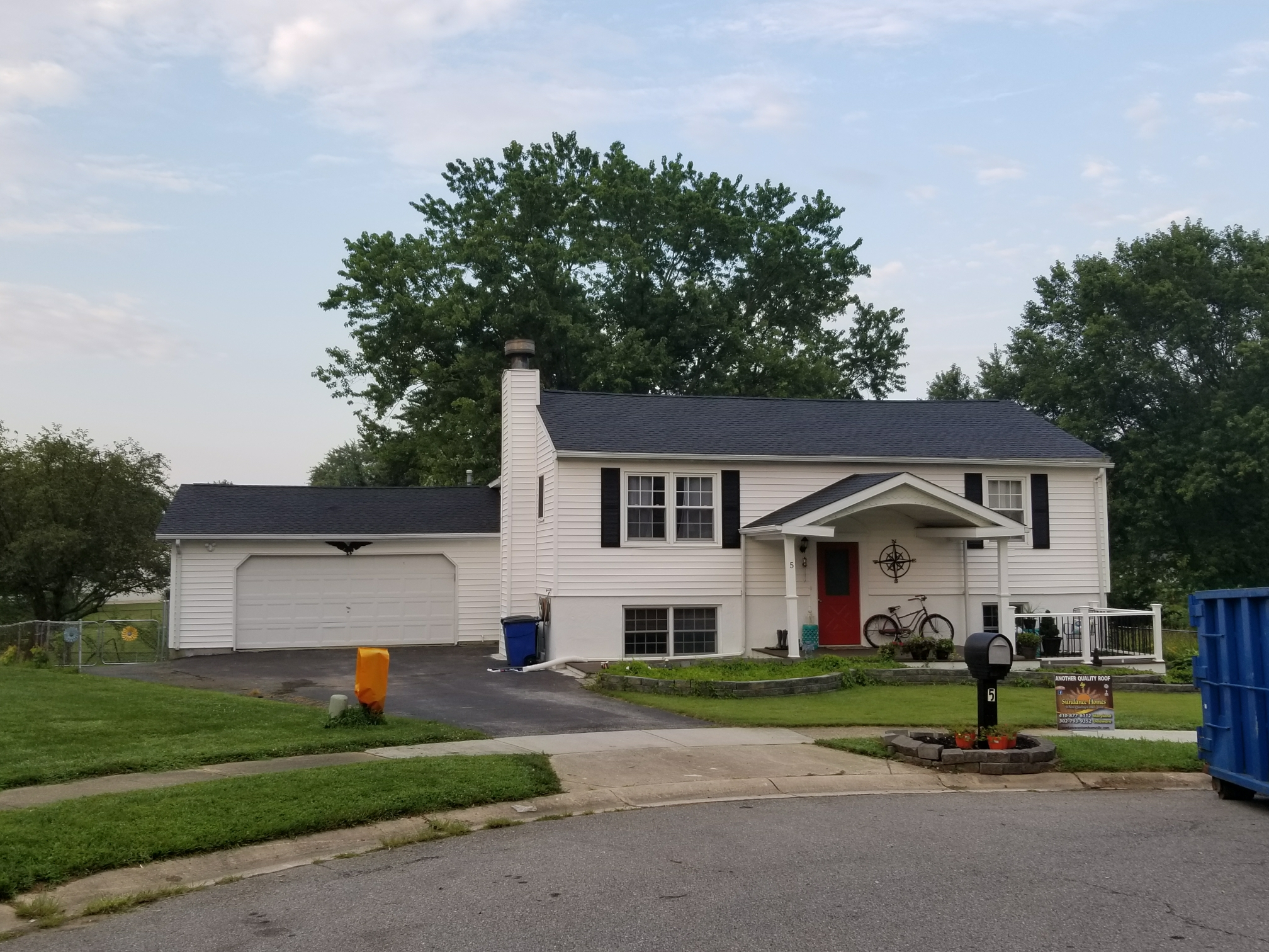Elkton, MD - Just finished this GAF Timberline HD Lifetime Roof Replacement
