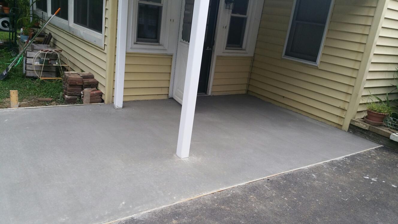 Chesapeake City, MD - New concrete pad