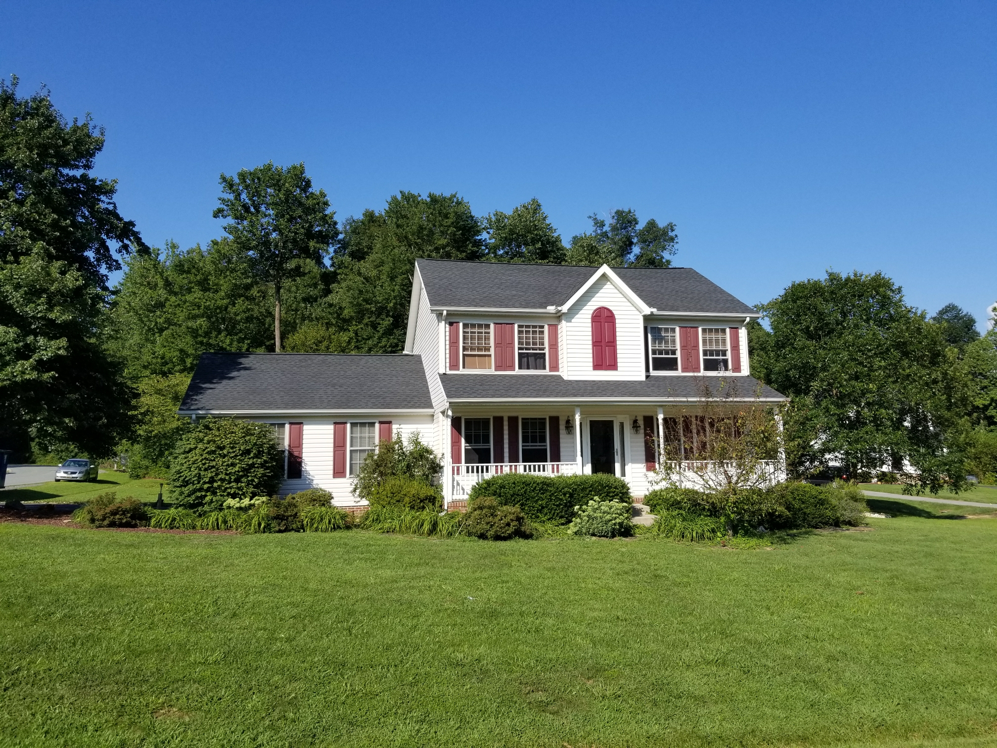 Elkton, MD - Here is a new GAF Timberline HD System Plus Lifetime Roof Replacement
