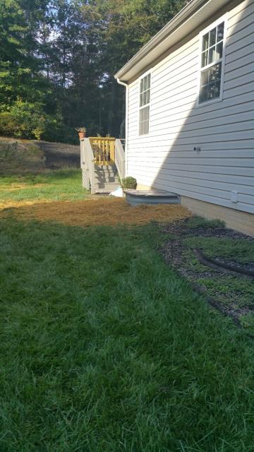 Elkton, MD - Here is a Bowman Kemp Basement Egress Window System we just finish up.