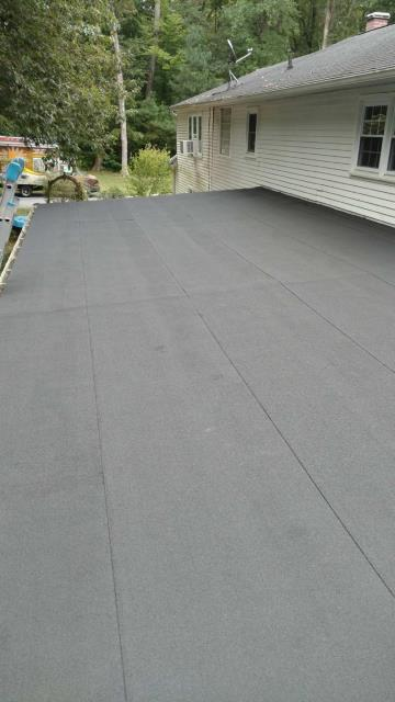 Centreville, MD - Here is a GAF Liberty Flat roof installation we just finished
