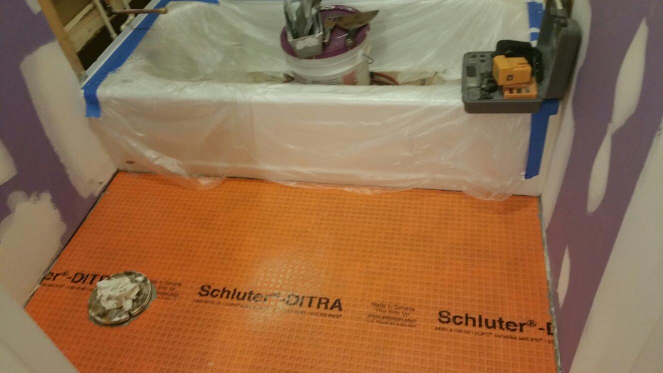 Middletown, DE - New tile floors
