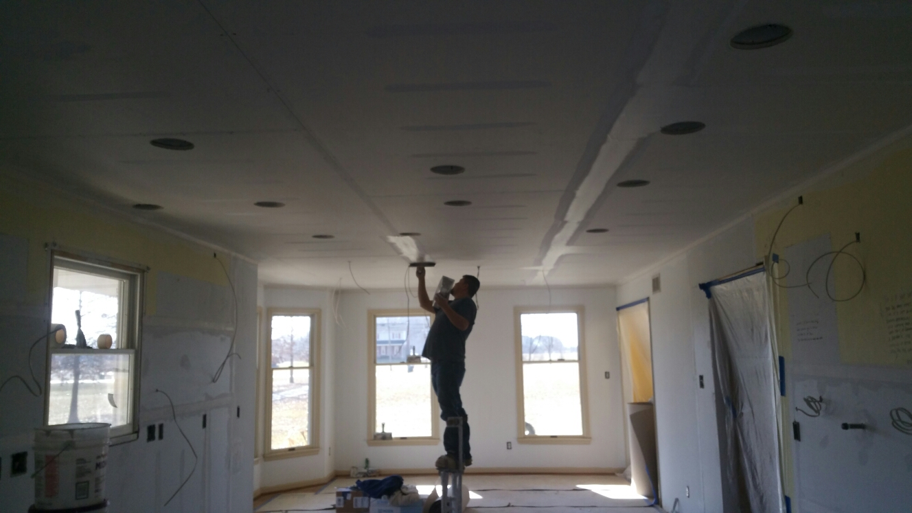 Middletown, DE - New drywall going up