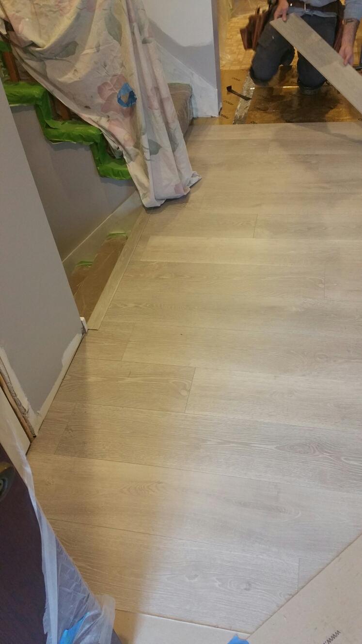 Townsend, DE - New Pergo flooring