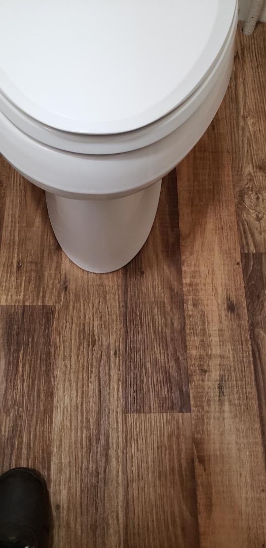 Lehighton, PA - Plumbing repair in Lehighton. Wax seal on toilet leaking. Replaced wax seal on toilet.