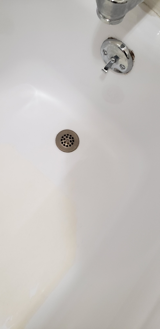 Lehighton, PA - Plumbing repair of leaking bathroom tub drain in Lehighton