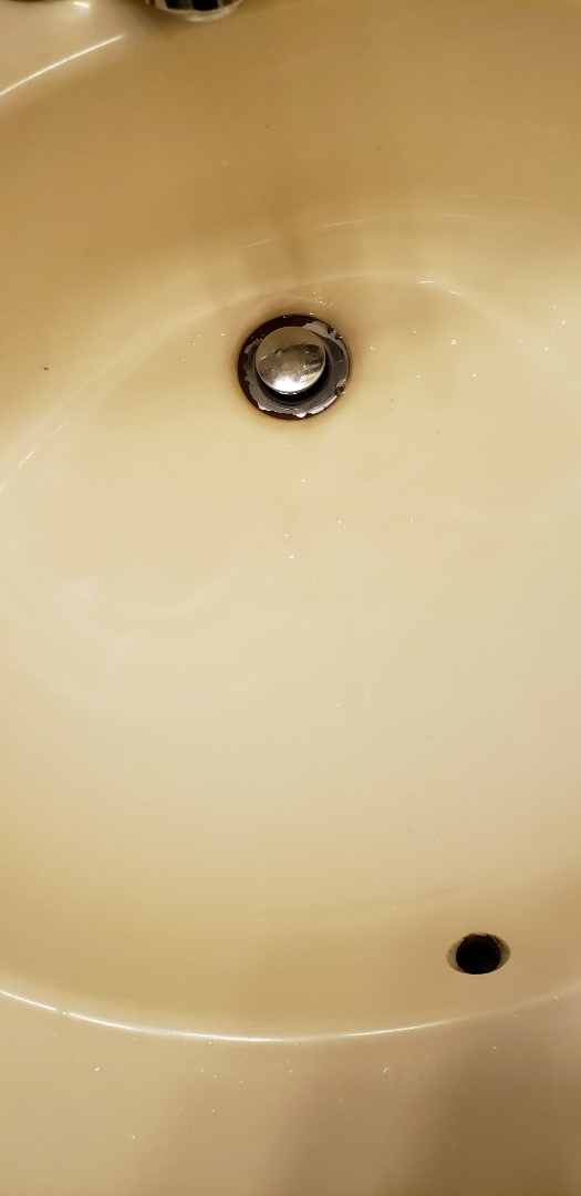 Whitehall, PA - Plumbing service call near Sheetz in Whitehall.     Clogged bathroom sink drain.
